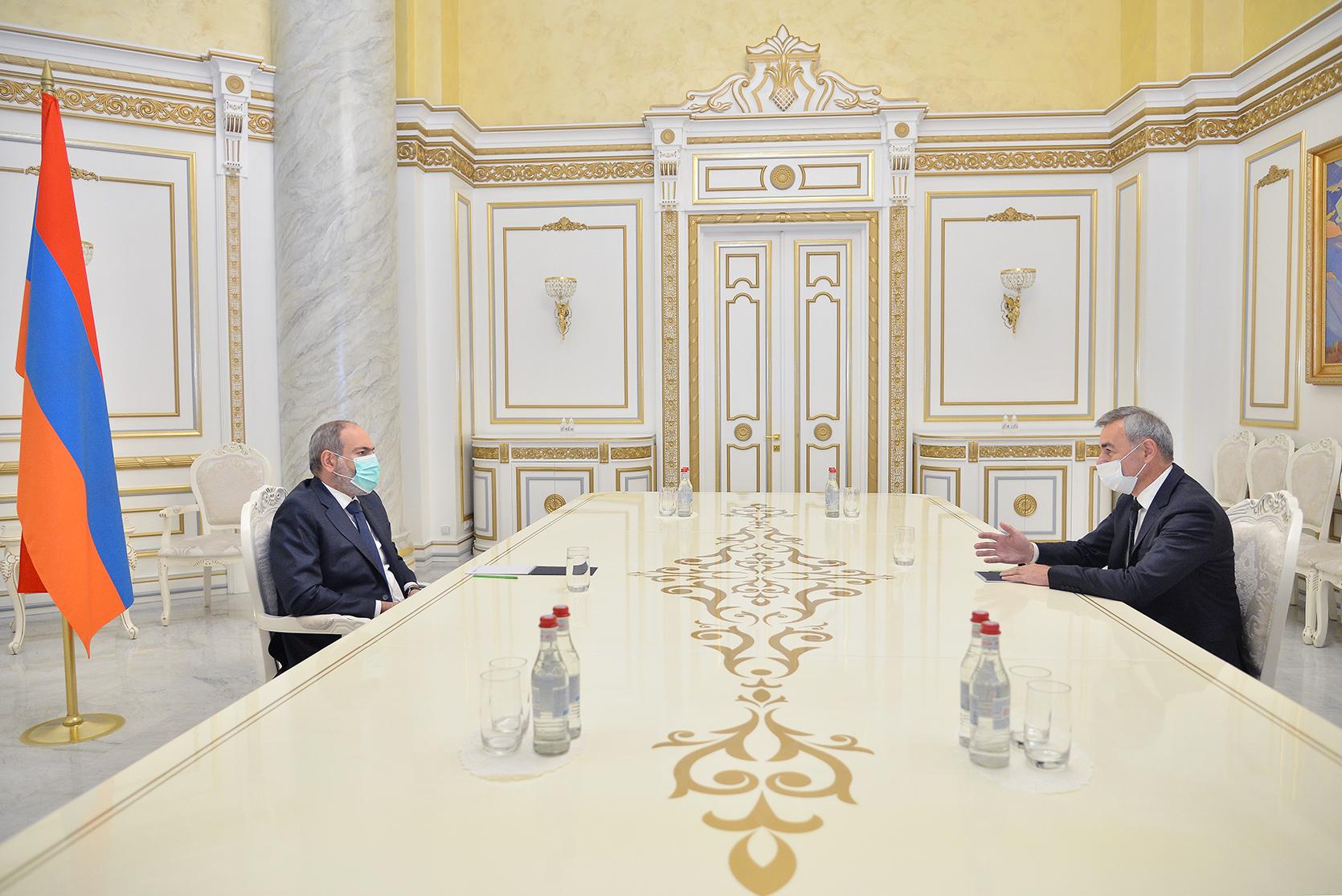Photo of Վարչապետ Փաշինյանը շարունակում է հանդիպումները գործարար դաշտի ներկայացուցիչների հետ