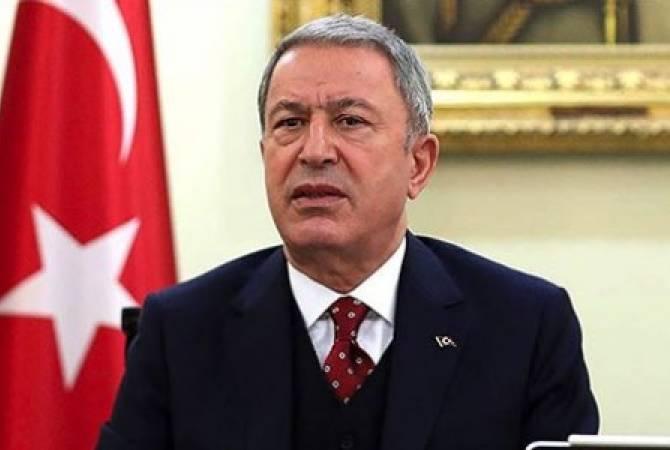 Photo of Թուրքիայի ՊՆ-ն արդարացրել է Ադրբեջանի ագրեսիան դիվանագիտական ջանքերի անարդյունավետության փաստարկով