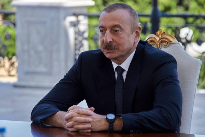 """Photo of Ильхам Алиев, есть много журналистов, которые подтвердят, что вы лжете: Корреспондент """"Bild"""""""