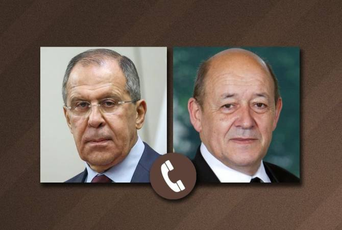 Photo of Главы МИД РФ и Франции обсудили ситуацию в Нагорном Карабахе