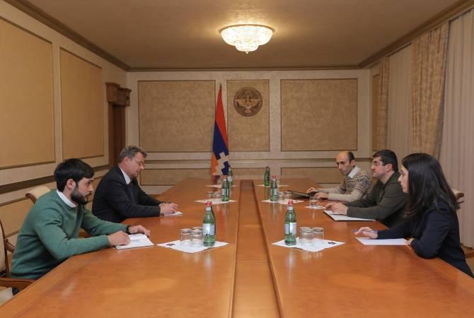 Photo of Президент Арцаха поблагодарил МККК за важную роль и деятельность структуры
