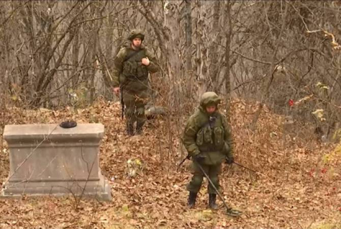 Photo of Российские миротворцы разминировали в Арцахе более двух га местности и около трех км дорог