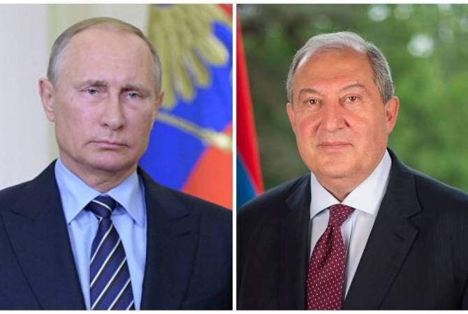 Photo of Президент Армен Саркисян направил письмо Владимиру Путину