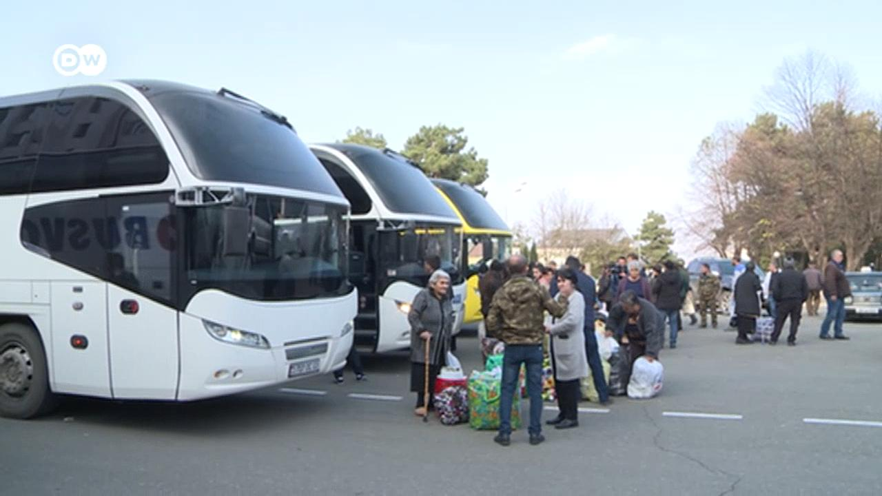 Photo of Դեպի Ստեփանակերտ անվճար ուղևորվող ավտոբուսները վաղը եղանակային վատ պայմանների պատճառով չեն մեկնի