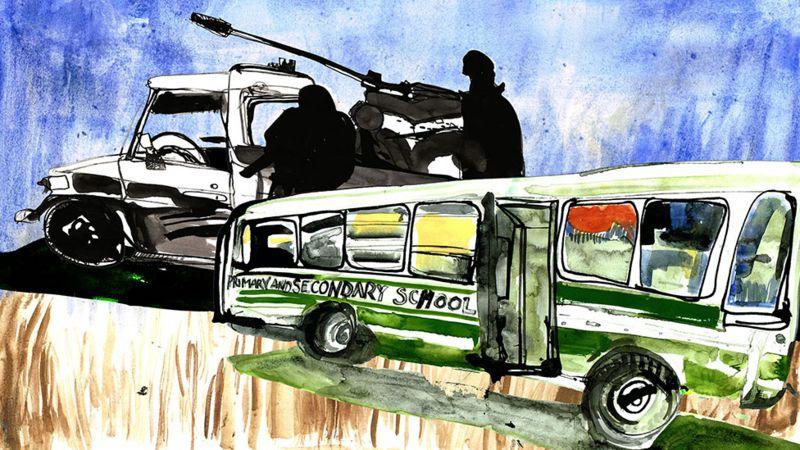 Photo of Как бывшему боевику-джихадисту доверили водить школьный автобус