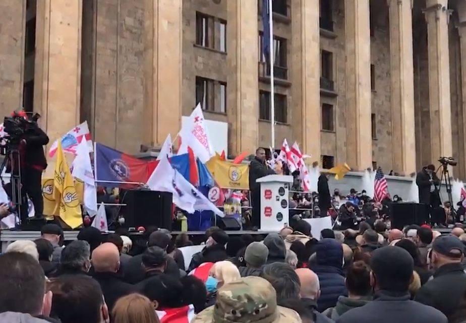 Photo of Վրաստանի ընդդիմությունը կրկին ցույց է անցկացում խորհրդարանական ընտրությունների արդյունքների դեմ