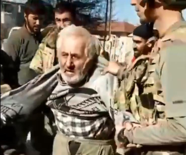 Photo of Տեսանյութում երևացող՝ ադրբեջանական զինված ուժերի կողմից անմարդկային վերաբերմունքի արժանացած անձը Շուշիի բնակիչ Է