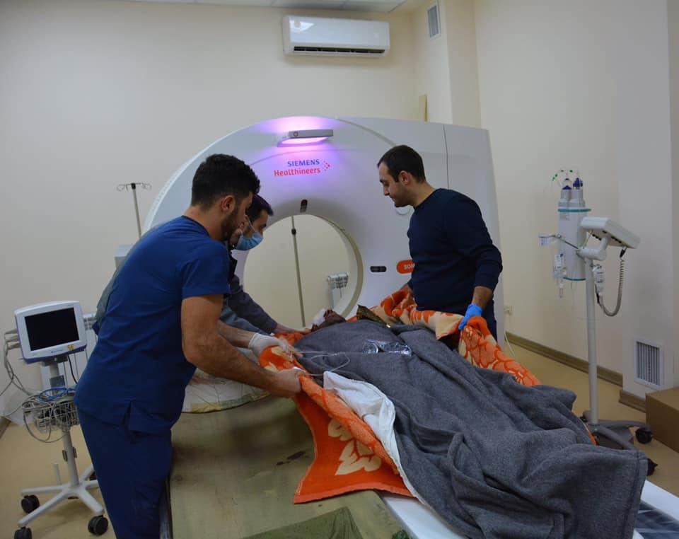Photo of Բժիշկները հավաստիացրել են որ ականի պայթյունից վիրավորված փրկարարների կյանքին վտանգ չի սպառնում
