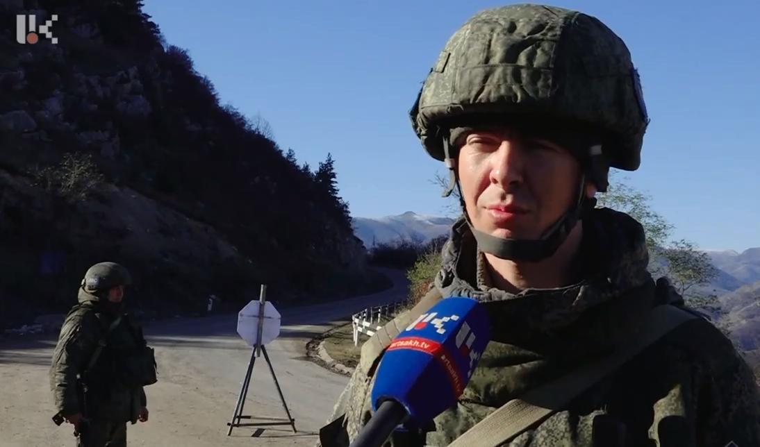 Photo of Գորիս-Ստեփանակերտ ճանապարհի անվտանգությունը ապահովում են ռուսական խաղաղապահ զորքերը