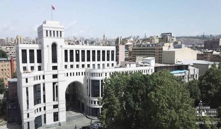 Photo of Армения направила Азербайджану письмо, призвав немедленно прекратить дискриминацию в отношении этнических армян