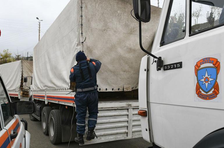 Photo of Ստեփանակերտ է ժամանել ՌԴ արտակարգ իրավիճակների նախարարության երկրորդ ավտոշարասյունը