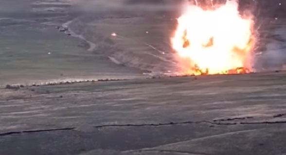 Photo of Շուշիի ուղղությամբ նկատվել է հակառակորդի զրահամեքենաների կուտակում, որը ՊԲ ստորաբաժանումների ճշգրիտ կրակով ոչնչացվել է