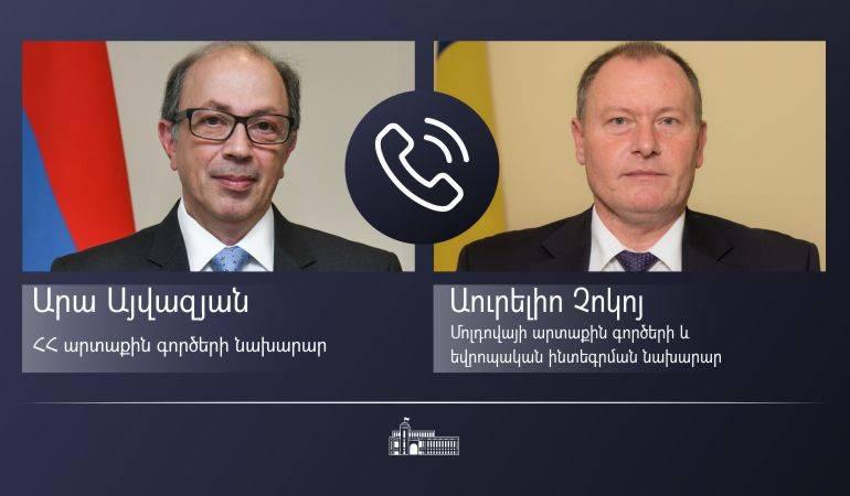Photo of Հայաստանի և Մոլդովայի արտաքին քաղաքական գերատեսչությունների ղեկավարների միջեւ հեռախոսազրույց է տեղի ունեցել