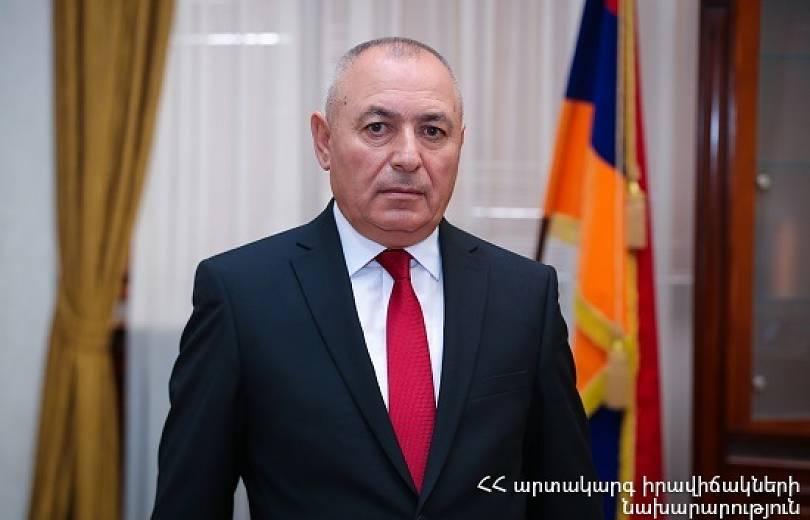 Photo of Երբեք չեմ հարել որևէ քաղաքական ուժի. հայրենիքի շահն ինձ համար բացարձակ արժեք է. ԱԻ նախարար