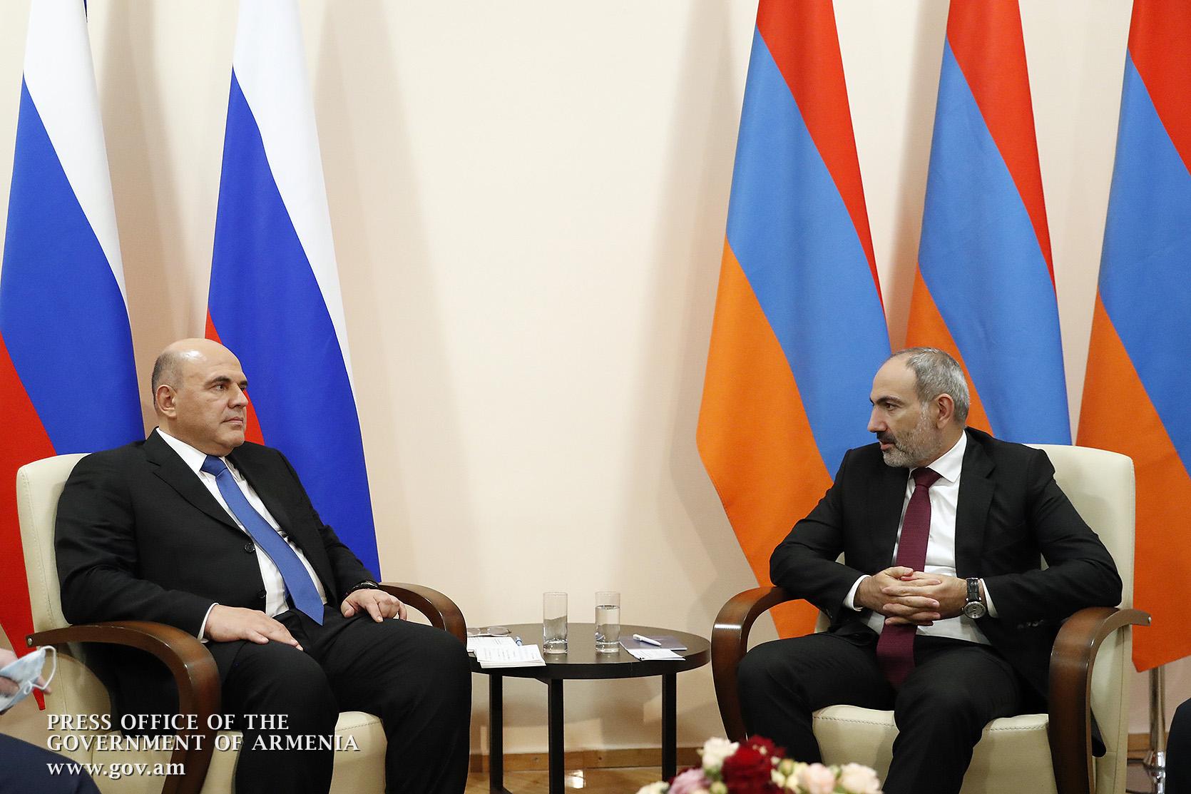Photo of По инициативе Михаила Мишустина состоялся телефонный разговор с Николом Пашиняном