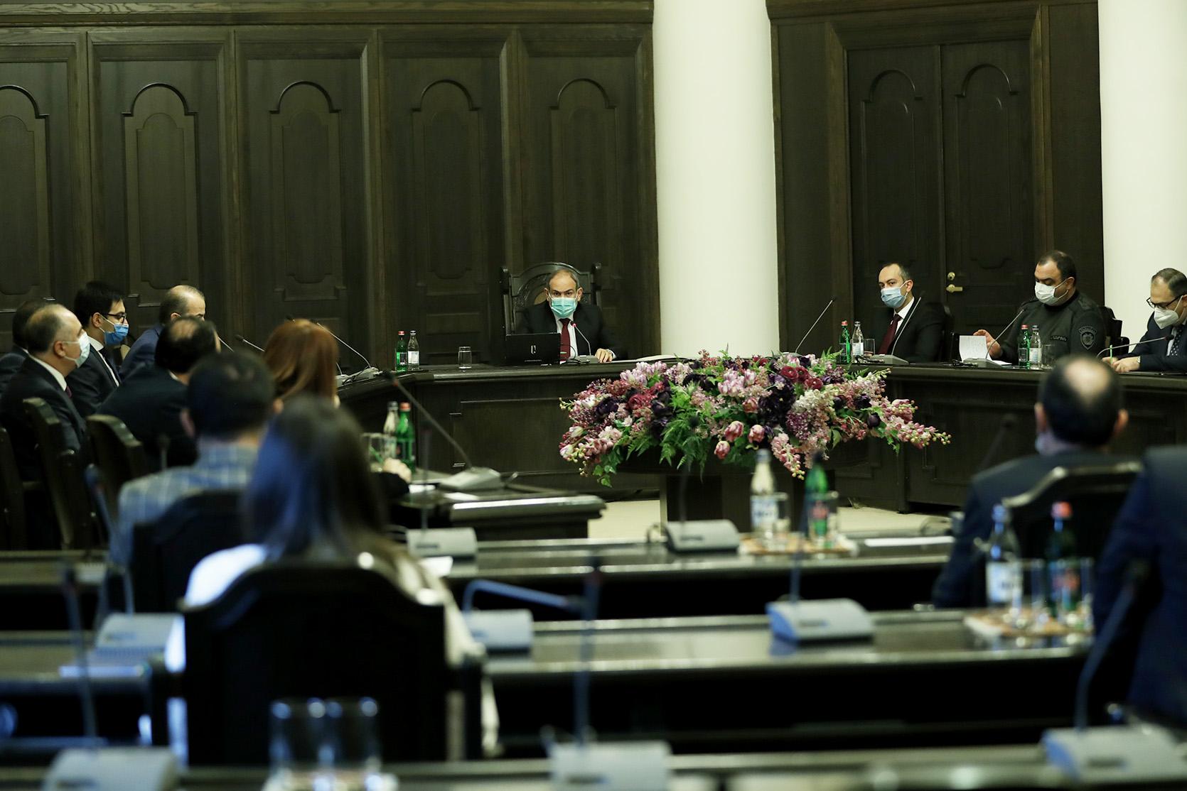 Photo of Վարչապետի մոտ իրավապահ համակարգի ղեկավարների մասնակցությամբ տեղի է ունեցել խորհրդակցություն