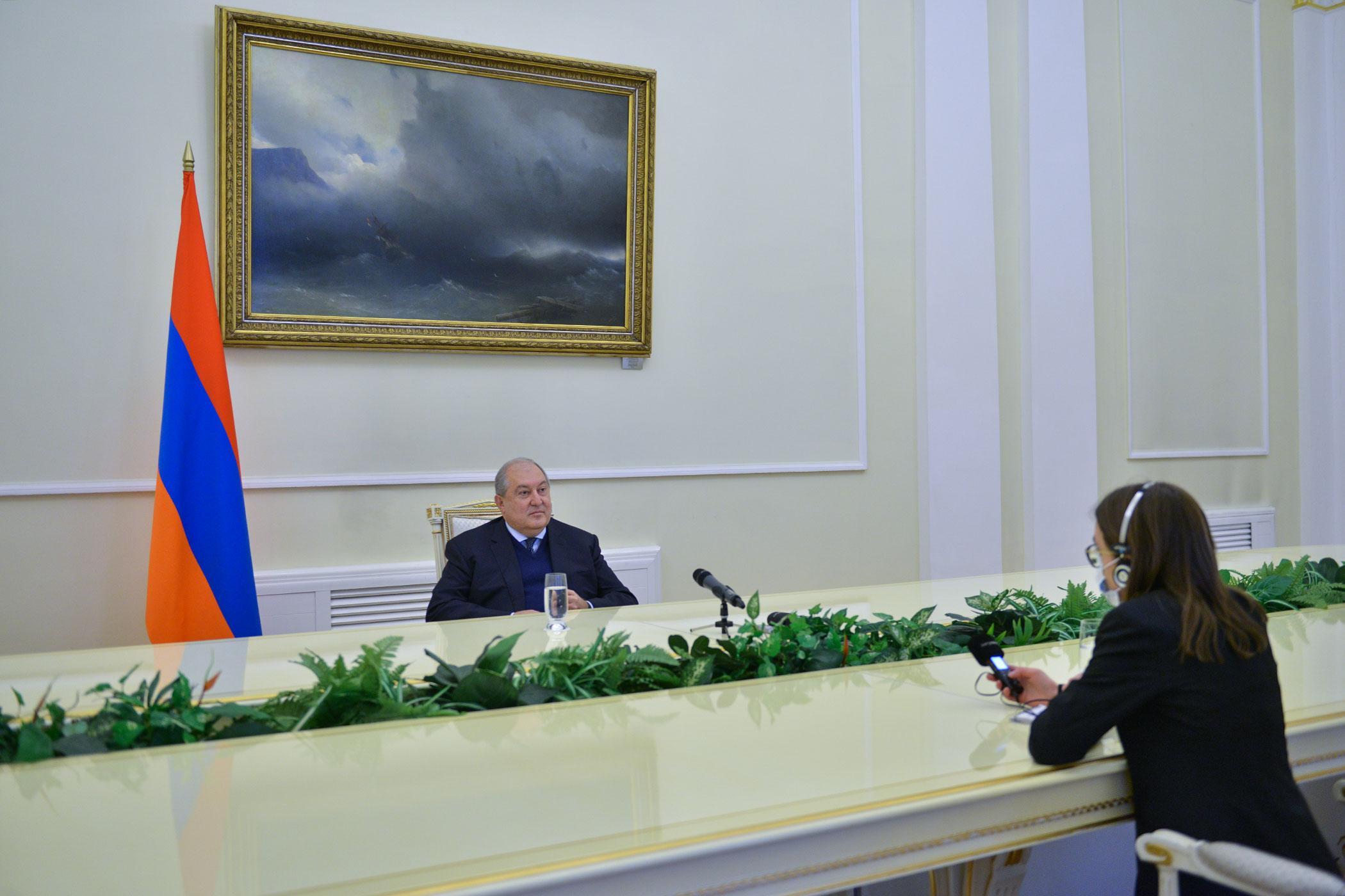 Photo of Միջազգային հանրությունը չի ցանկանում նկատել Թուրքիայի վարքագիծը. նախագահ Արմեն Սարգսյանը հարցազրույց է տվել Շվեդիայի հանրային ռադիոյին