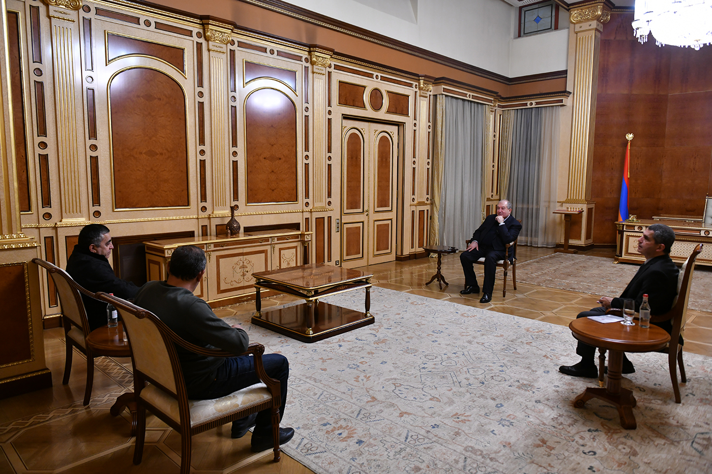 Photo of Նախագահ Արմեն Սարգսյանը քաղաքական խորհրդակցություններ է նախաձեռնել խորհրդարանական և արտախորհրդարանական ուժերի հետ