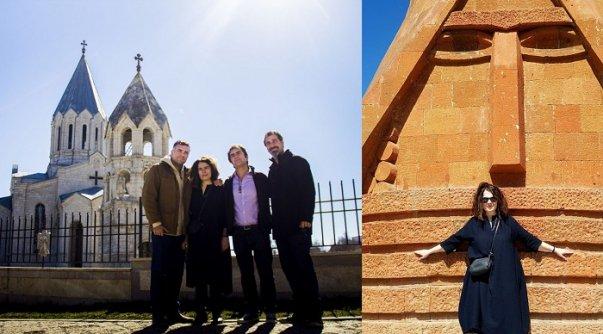 Photo of Արսինե Խանջյանը հրապարակել է «Ճանապարհ դեպի տուն» ֆիլմը, որը պատմում է հայ հայտնիների հետ Արցախ կատարած իր այցի մասին