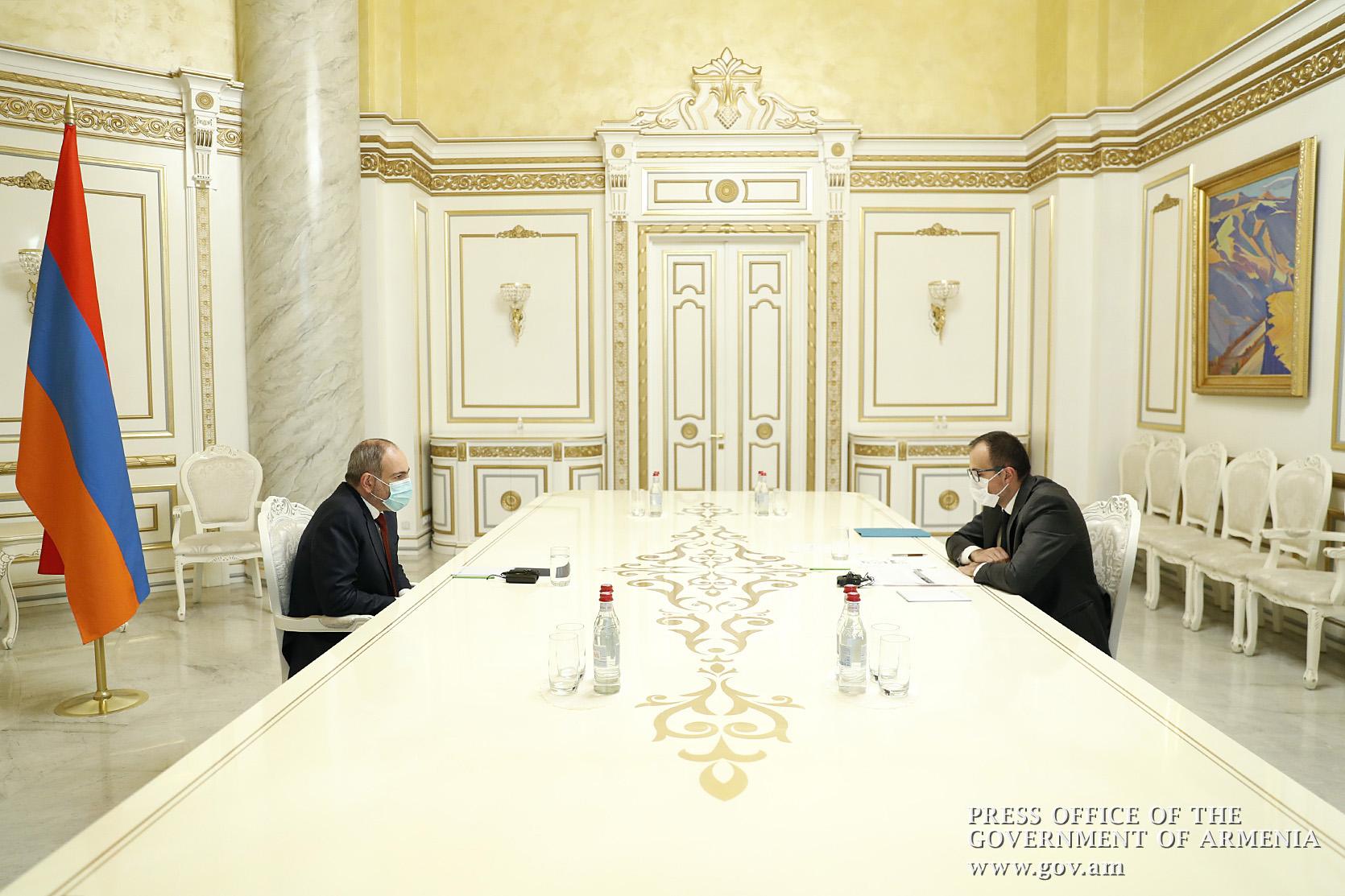 Photo of Արսեն Թորոսյանը վարչապետին զեկուցել է կորոնավիրուսի հետ կապված վիճակի և վիրավոր զինծառայողների բուժօգնության կազմակերպման մասին
