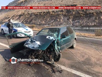 Photo of Խոշոր ավտովթար Կոտայքի մարզում. Չայնիի ոլորաններում բախվել են Volkswagen-ը, Nissan-ն ու Opel-ը. 8 վիրավորներից 3-ը ծանր են