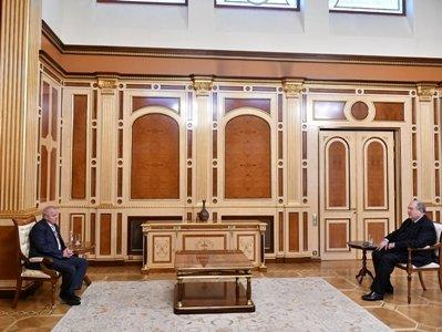 Photo of Նախագահ Արմեն Սարգսյանը հանդիպել է Հայաստանում Ռուսաստանի դեսպան Սերգեյ Կոպիրկինի հետ