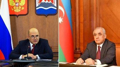 Photo of Միխայիլ Միշուստինը Ադրբեջանի վարչապետի հետ քննարկել է Հարավային Կովկասում երկաթուղային ենթակառուցվածքների զարգացումը