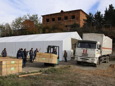 Photo of Ղարաբաղում Ռուսաստանի ԱԻՆ-ն ավարտել է խմբավորման երկարաժամկետ տեղակայման համար ճամբարի կազմակերպումը