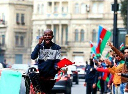 Photo of «Բնիկ ադրբեջանցին տոնում է Շուշիում «հաղթանակը»». ռազմական թղթակից Կոտենոկ