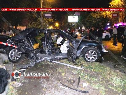 Photo of Խոշոր ու ողբերգական ավտովթար Երևանում. Բաղրամյան պողոտայում բախվել են Mercedes-ը, Suzuki-ն ու Opel-ը. կան զոհեր և վիրավորներ