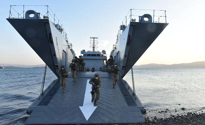Photo of Թուրքական բանակի զորավարժանքները Էգեյան ծովում
