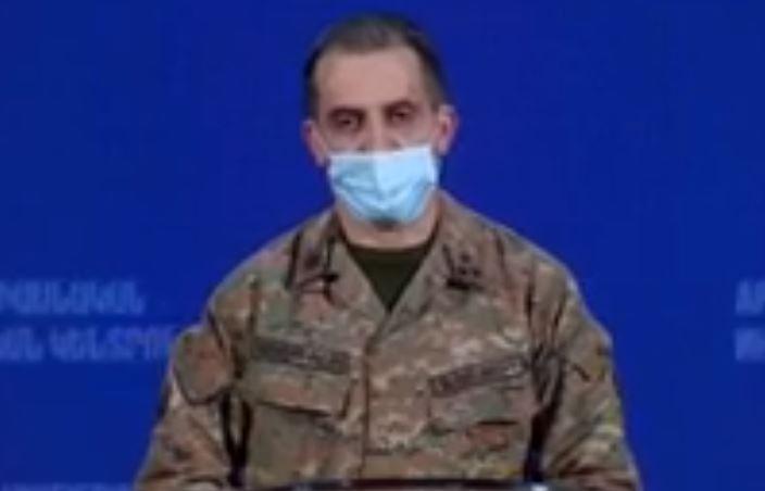 Photo of Արցախի Պաշտպանության բանակի ներկայացուցիչ Սուրեն Սարումյան ճեպազրույցը
