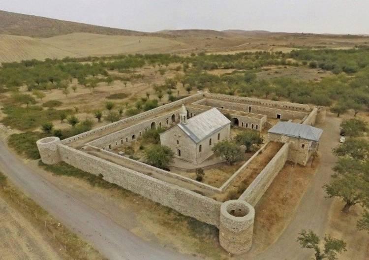 Photo of Sky News подтверждает, что монастырь Амарас находится под контролем Армении и России