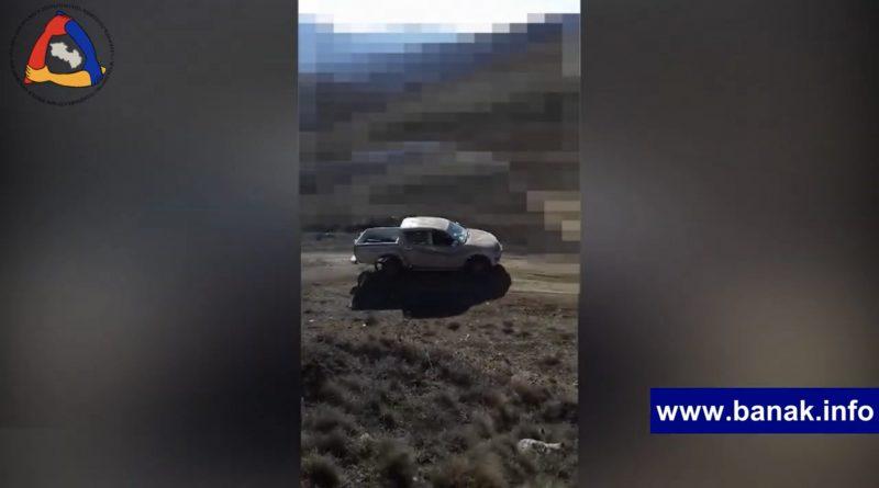 Photo of Армянские силы после уничтожения противника конфисковали командирскую машину противника