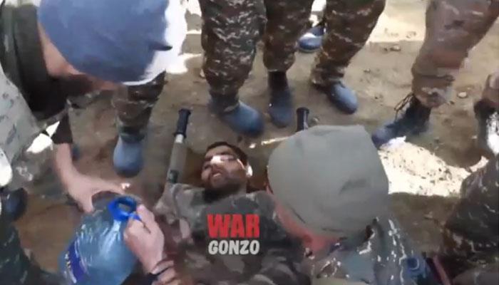 Photo of Ինչպես են Արցախի զինվորականները փրկում ադրբեջանցուն