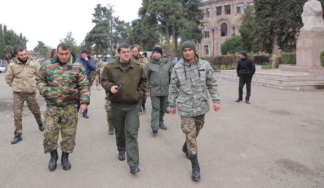 Photo of Арцах продолжит оставаться в своем независимом статусе. Президент Республики Арцах Араик Арутюнян посетил Мартуни