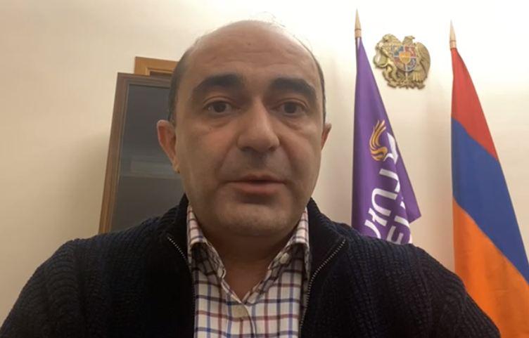Photo of Էդմոն Մարուքյանը Լուսավոր Հայաստանի դիրքորոշման մասին