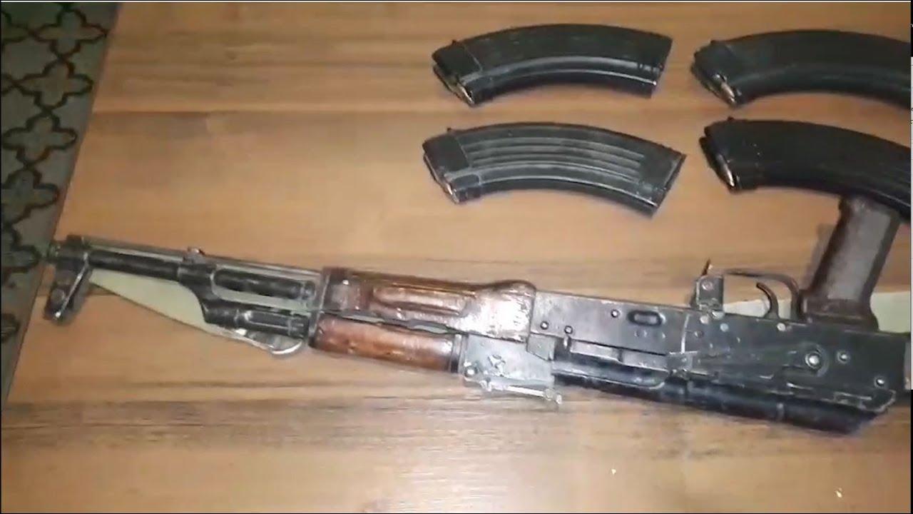 Photo of Վարդենիսի ոստիկանները Արցախից բերված «Կալաշնիկովի» ինքնաձիգ են հայտնաբերել