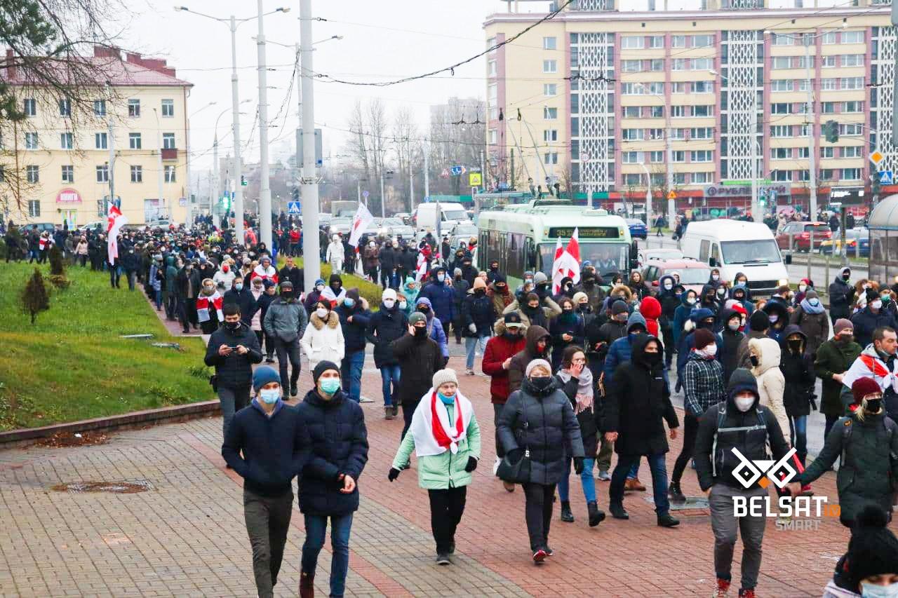 Photo of Уже 113-й день белорусы выходят на улицы