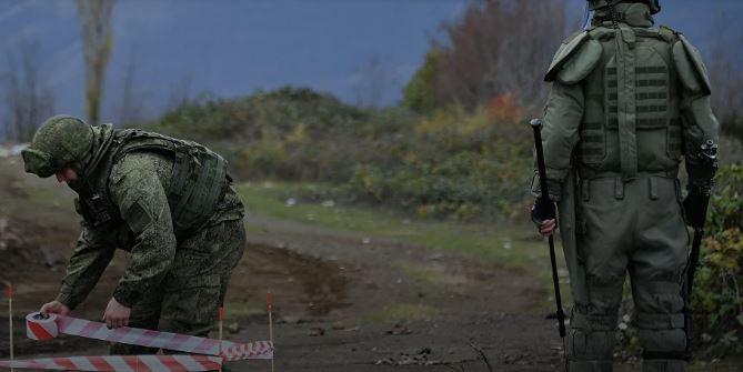 Photo of Российский миротворец и 4 сотрудника МЧС НКР ранены, азербайджанский военный погиб при взрыве мины у Мадагиза в Карабахе