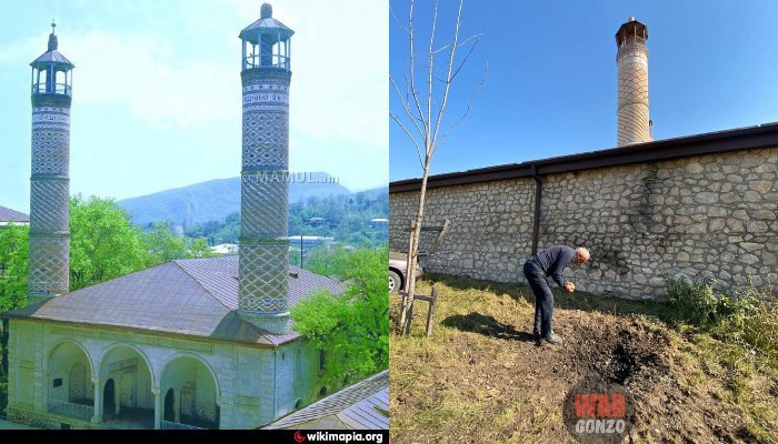 Photo of «Շուշիում իրանական մզկիթը գնդակոծվել է Ադրբեջանի զինված ուժերի կողմից». Wargonzo
