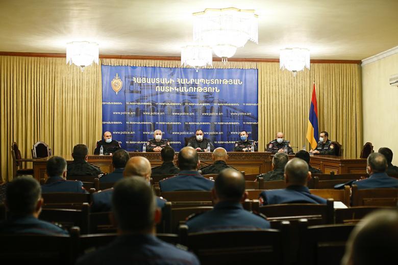 Photo of Պատերազմին մասնակցած 184 ոստիկան անձնվիրաբար ծառայելու համար խրախուսվել են