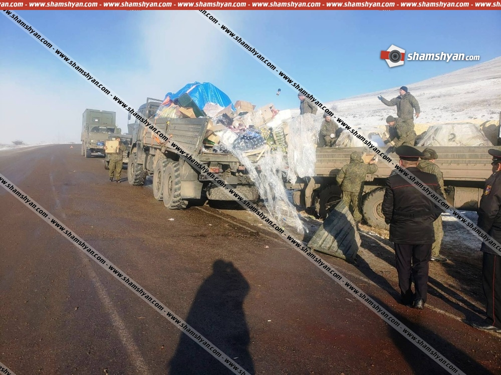 Photo of Խոշոր ավտովթար Սյունիքի մարզում․ բախվել են բեռնատարները․ վիրավորները ՌԴ խաղաղապահ զորքերի զինծառայողներ են․ դեպքի վայր է ժամանել գեներալ-լեյտենանտ Ռուստամ Մուրադովը