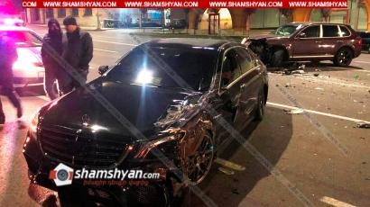 Photo of Ավտովթար Երևանում. «Մետրոպոլի» դիմաց բախվել են Porsche Cayenne-ն ու Mercedes-ը