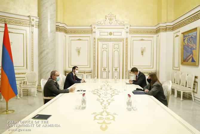 Photo of Վարչապետն ԱՄՆ դեսպանի հետ քննարկել է արցախյան հակամարտության շուրջ զարգացումները