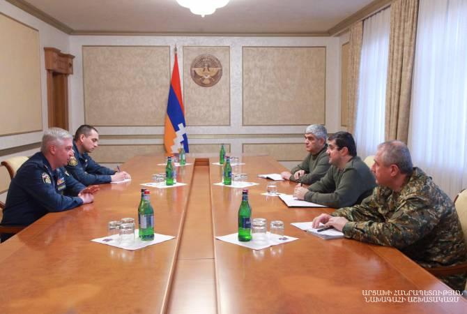 Photo of Արայիկ Հարությունյանն ընդունել է ՌԴ ԱԻՆ օպերատիվ խմբի ղեկավար Իգոր Կուտրովսկուն