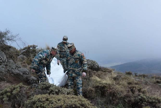 Photo of В районах Гадрута, Джабраила и Физули обнаружены тела 14 погибших военнослужащих