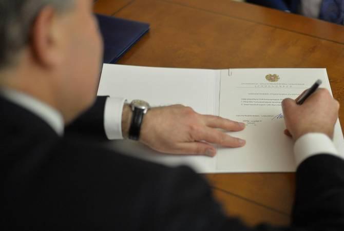 Photo of Президент Армении подписал проект о внесении изменений в закон о ГНКО