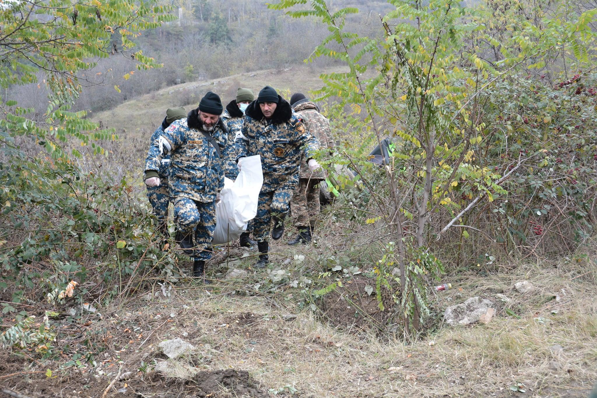 Photo of По итогам поисковых работ с 13 ноября обнаружены 828 тел армянских военнослужащих