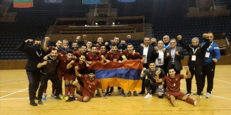 Photo of Ֆուտզալի Հայաստանի հավաքականի հաղթական հանդերձարանը